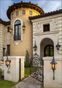 gated entryway