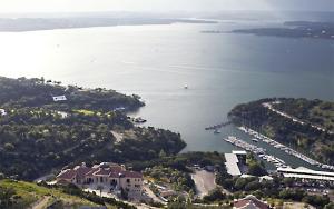 lake view from Italian villa