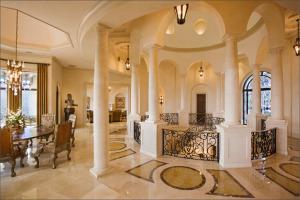 villa entry vestibule