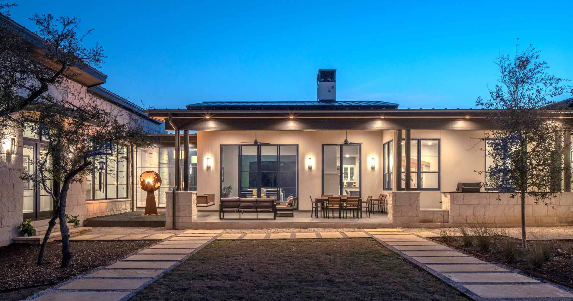 modern ranch home - HD1900×1000