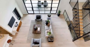 Hill Country Contemporary second floor