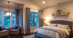 Texas farmhouse contemporary bedroom