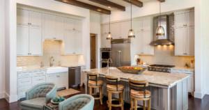 Texas farmhouse contemporary kitchen