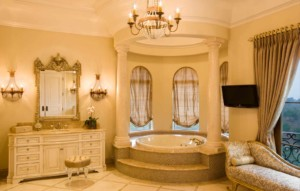 Italian Villa bathroom