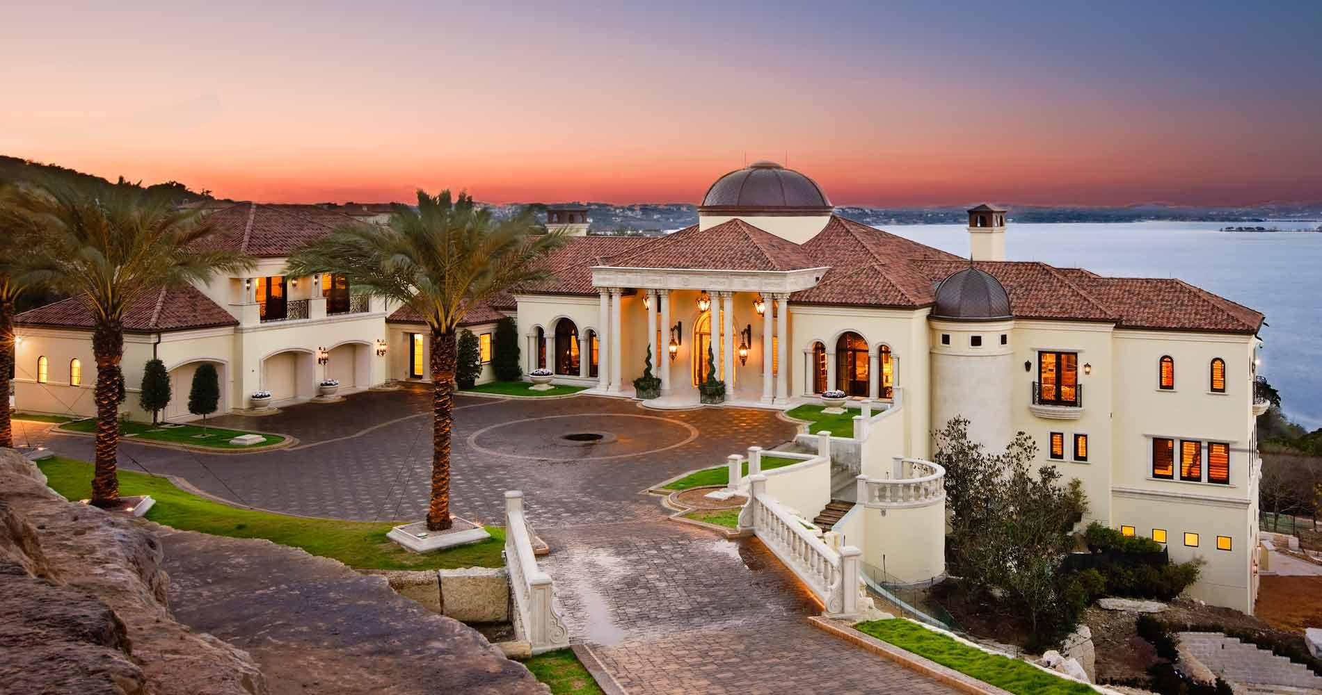Italian Villa front view