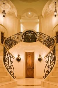 Italian Villa staircase