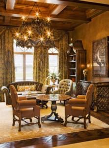 Italian Villa study