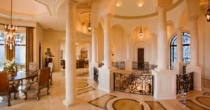 Italian Villa foyer