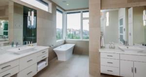 Westlake Contemporary bath