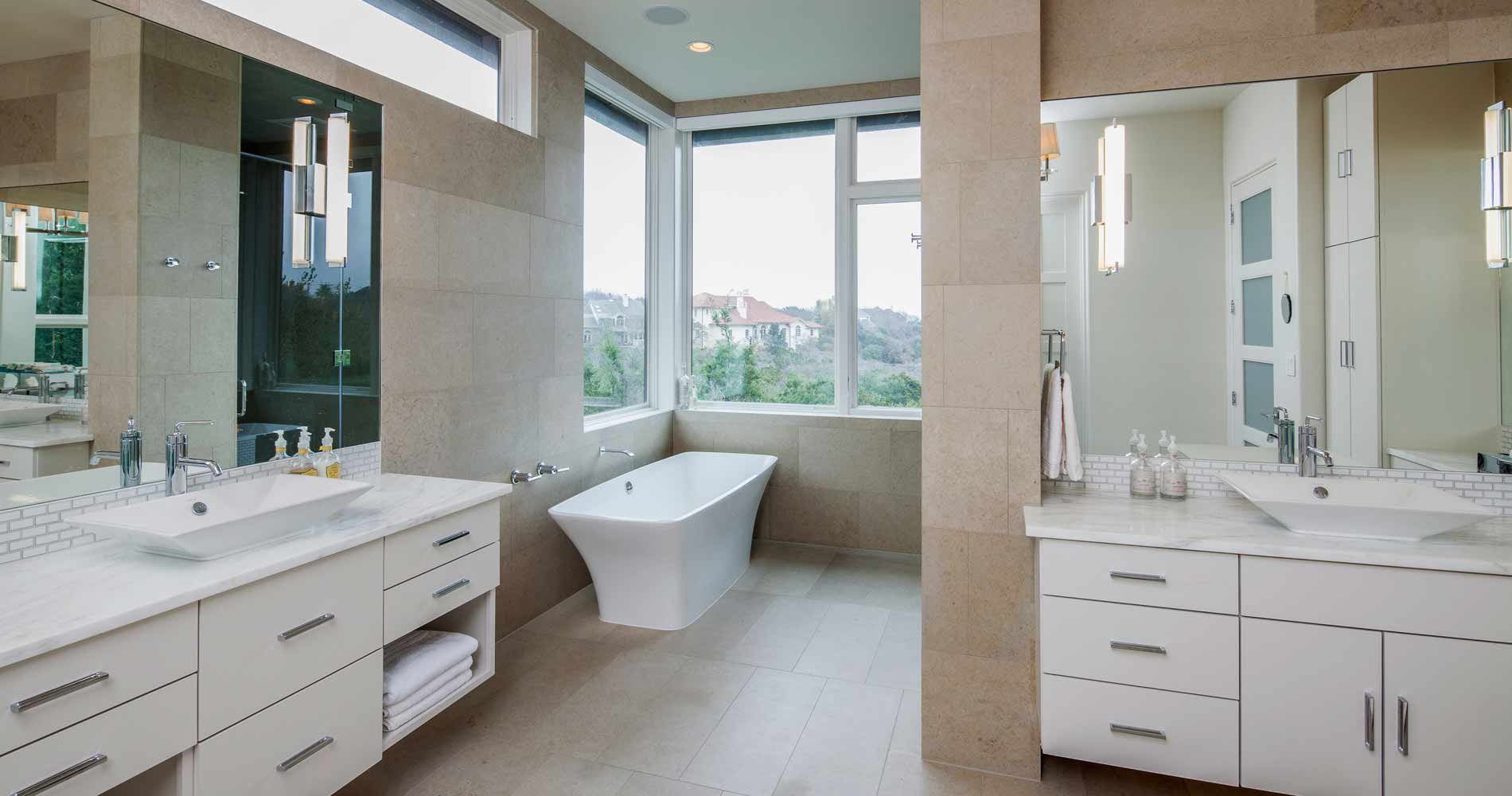 Westlake Contemporary bath