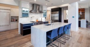 Westlake Contemporary kitchen