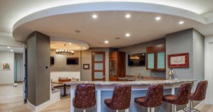 Westlake Contemporary wet bar
