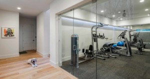 Westlake Contemporary workout room