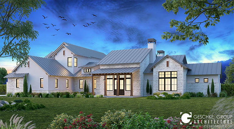 contemporary farmhouse
