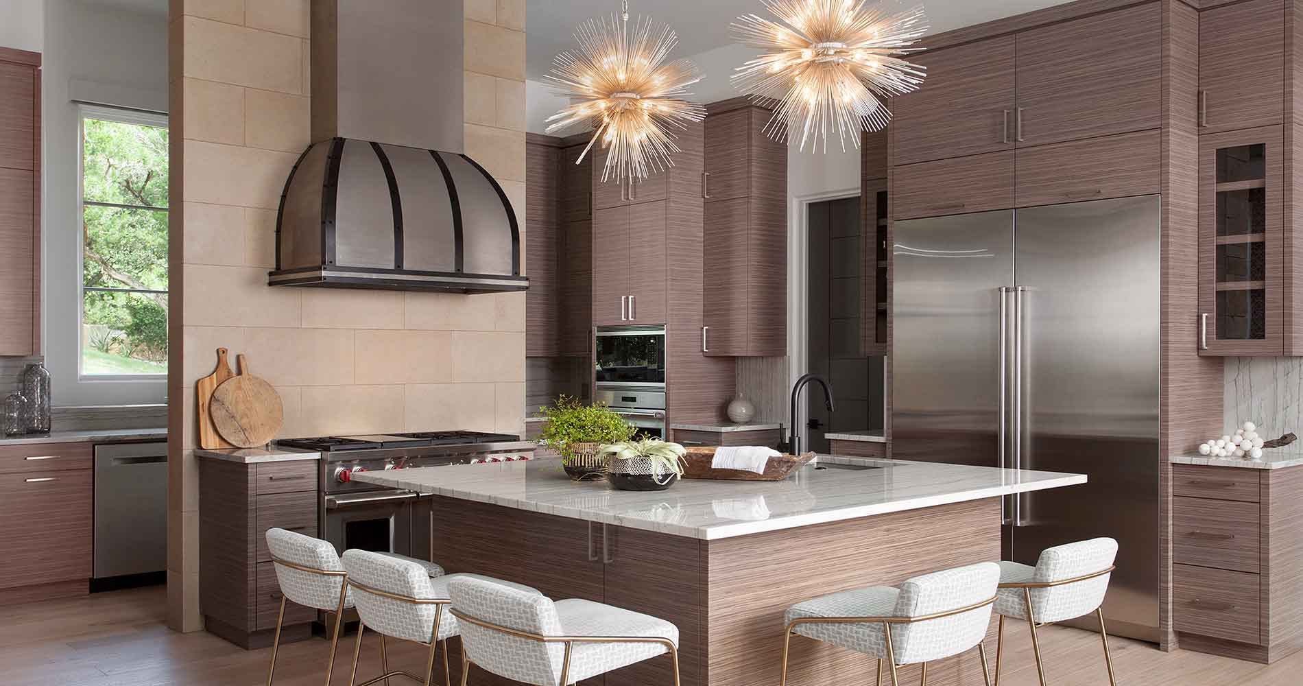 Hill Country Contemporary kitchen