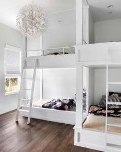 modern Texas transitional bunkbeds