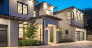 modern Texas transitional entry